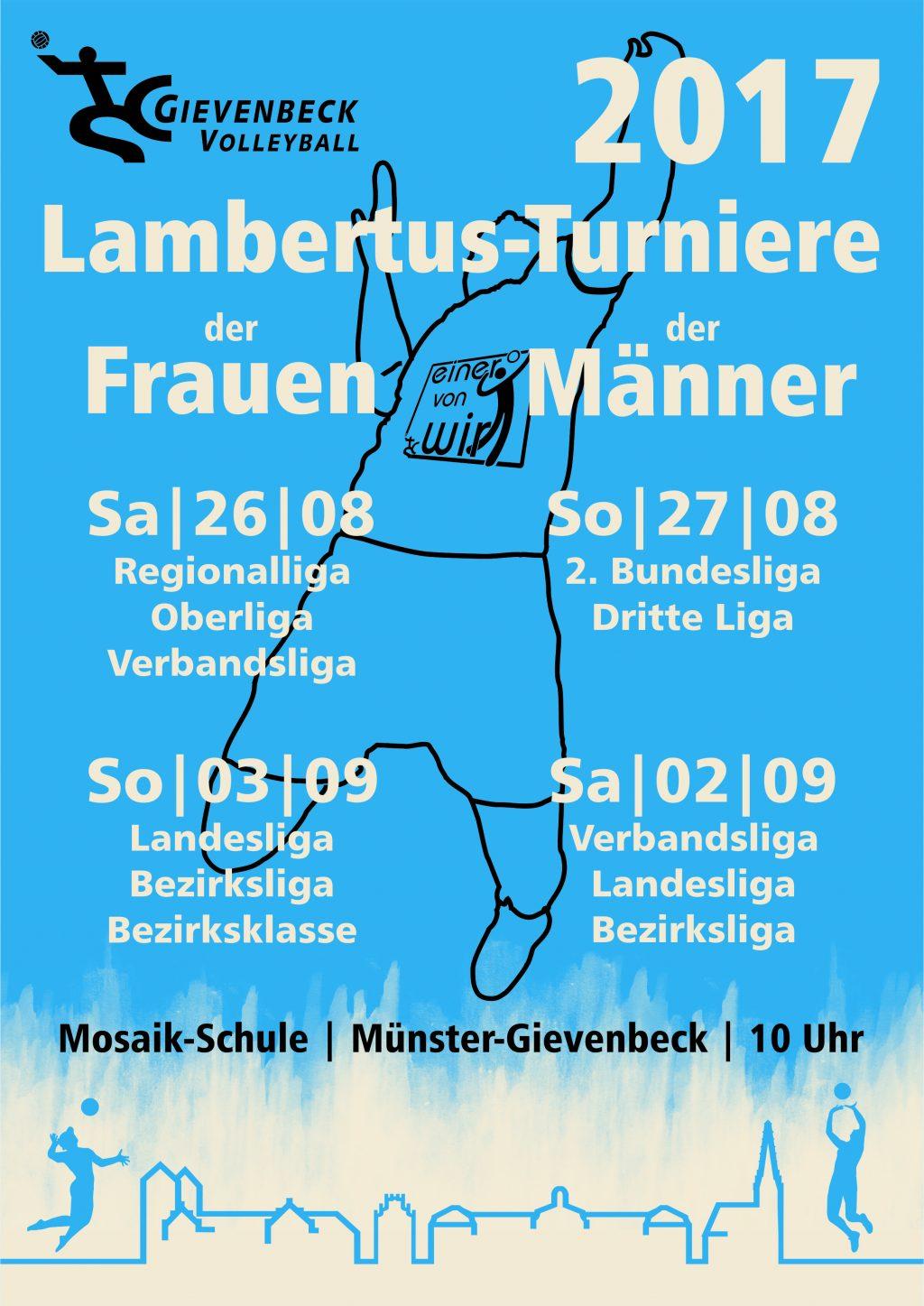 Lambertus-Turniere 2017