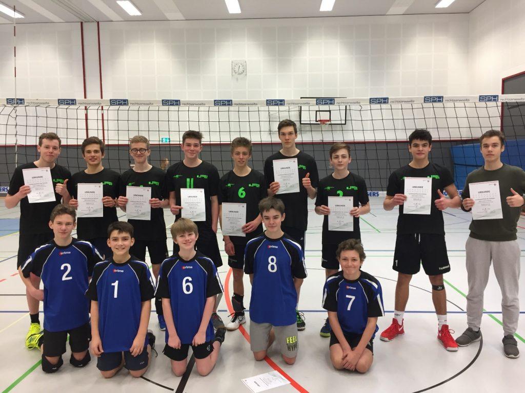 Stein-Volleyballer auf ganzer Linie erfolgreich